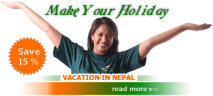 make your holidays in nepal